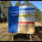 Camping Penstock Lagoon