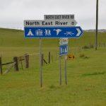 Camping North East River Flinders Island
